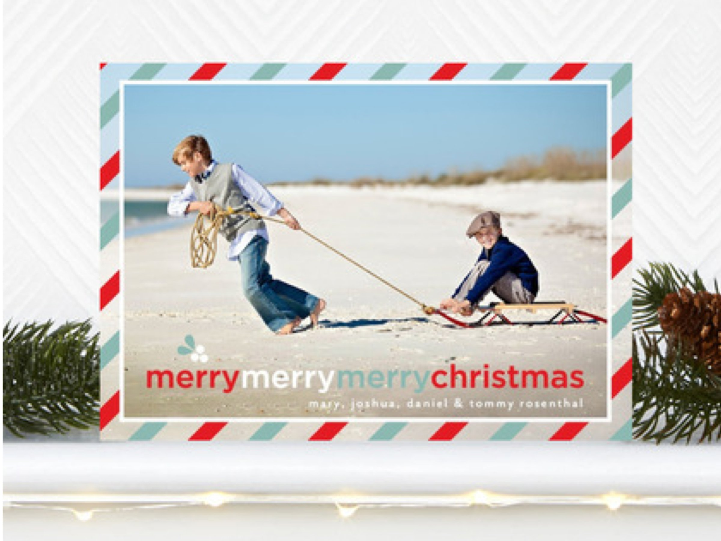Wishing You a Very Merry Merry Merry Christmas
