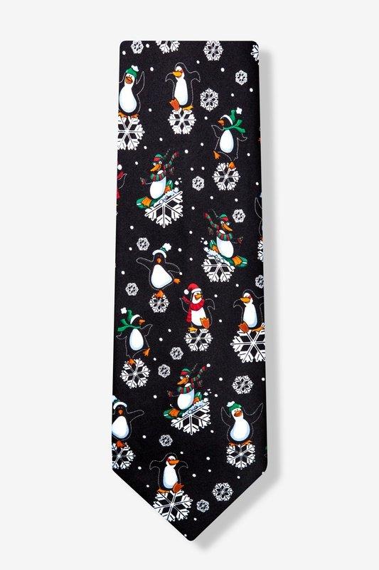 dancing penguins tie