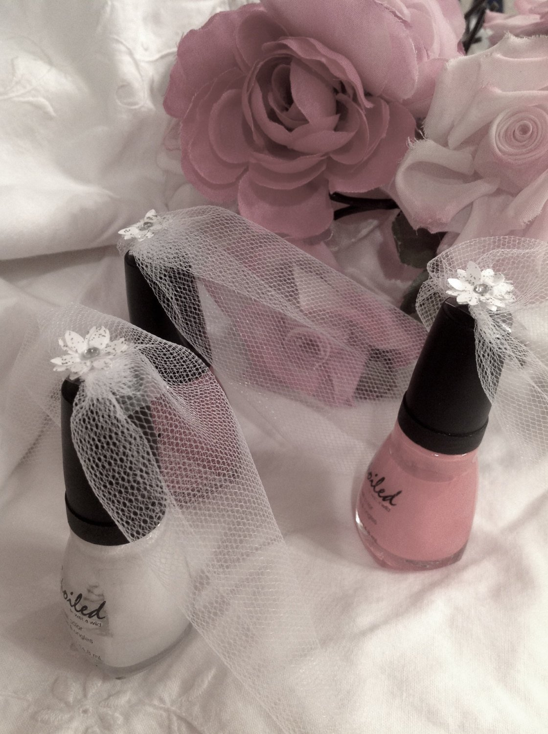 Bridal Veil Nail Polish, will you be my bridesmaid