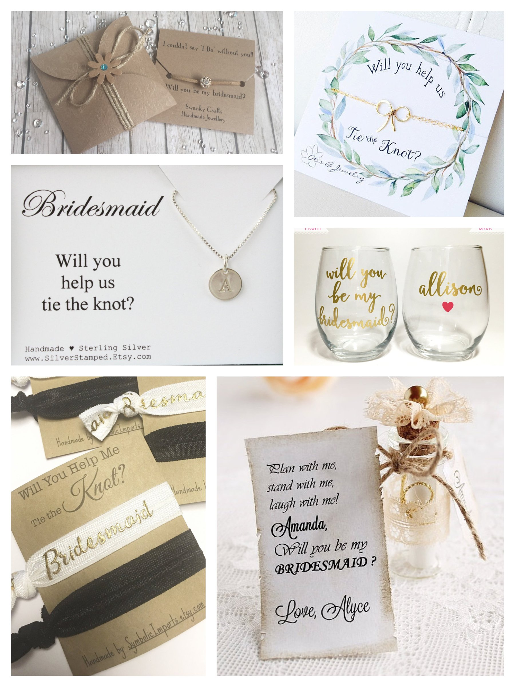 Will you be my bridesmaid Ask Ideas