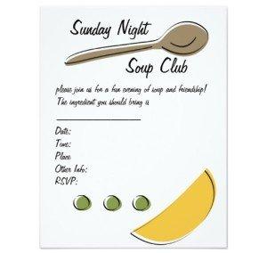 soup club custom invite