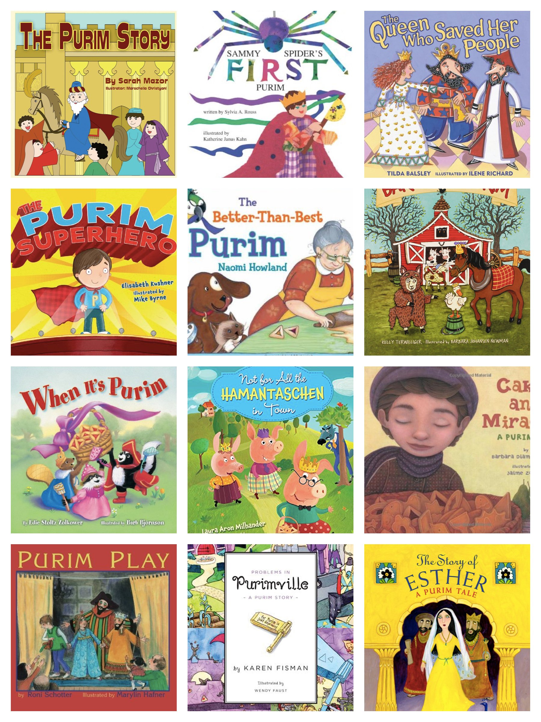 Childrens Purim Books