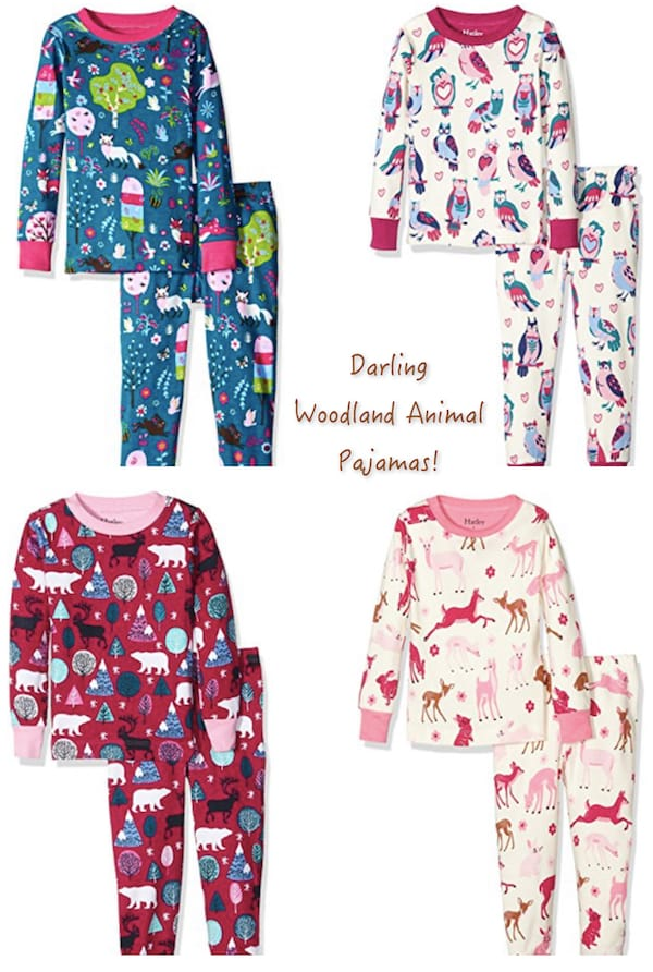 Darling Woodland Animal Pajamas