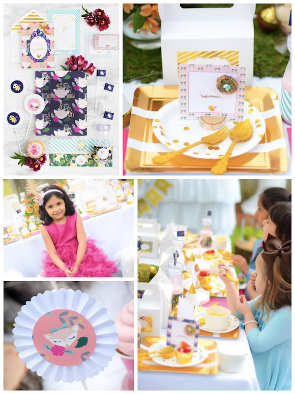 Enchanted Forest and Woodland Fairy Birthday Party and Baby Shower In A Box
