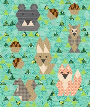 Forest Friends Baby Quilt