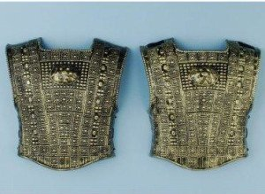 Gold Roman Chest Plate