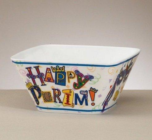 Happy Purim Bowl