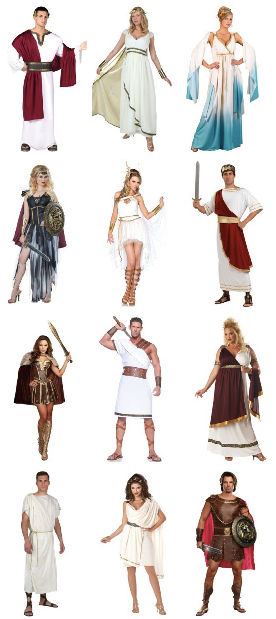 Ides of March Toga Party Costumes