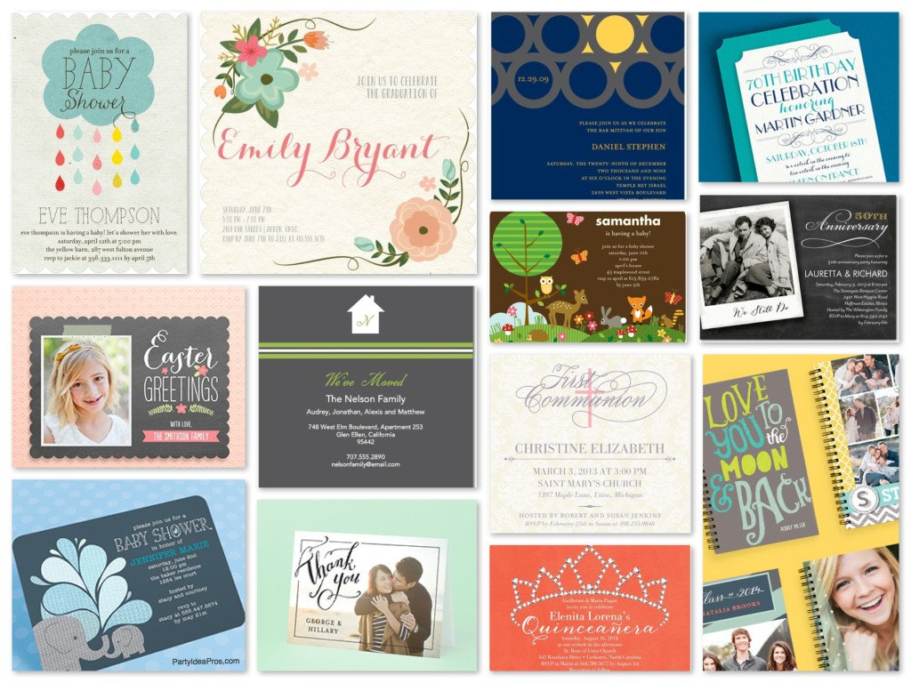 Tiny Prints Invitations & Announcements for All Life's Occasions