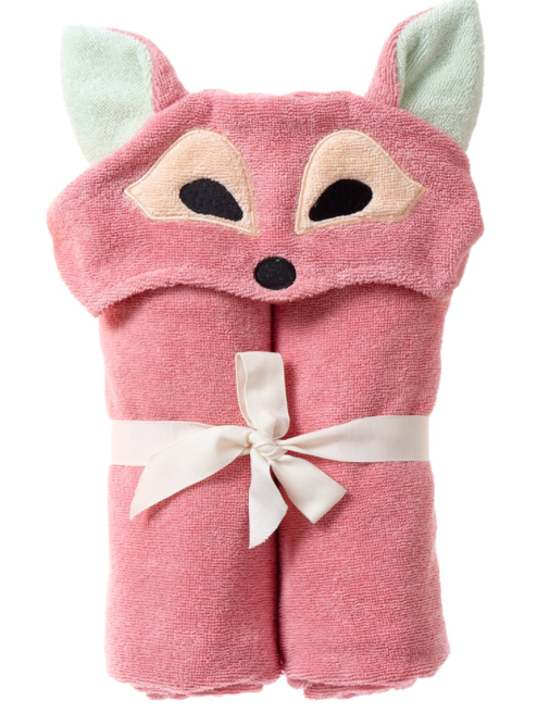 Playful Fox Bath Wrap
