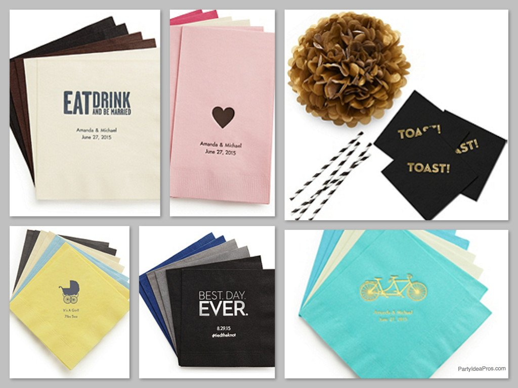 Personalized Napkins, The Napkin Event