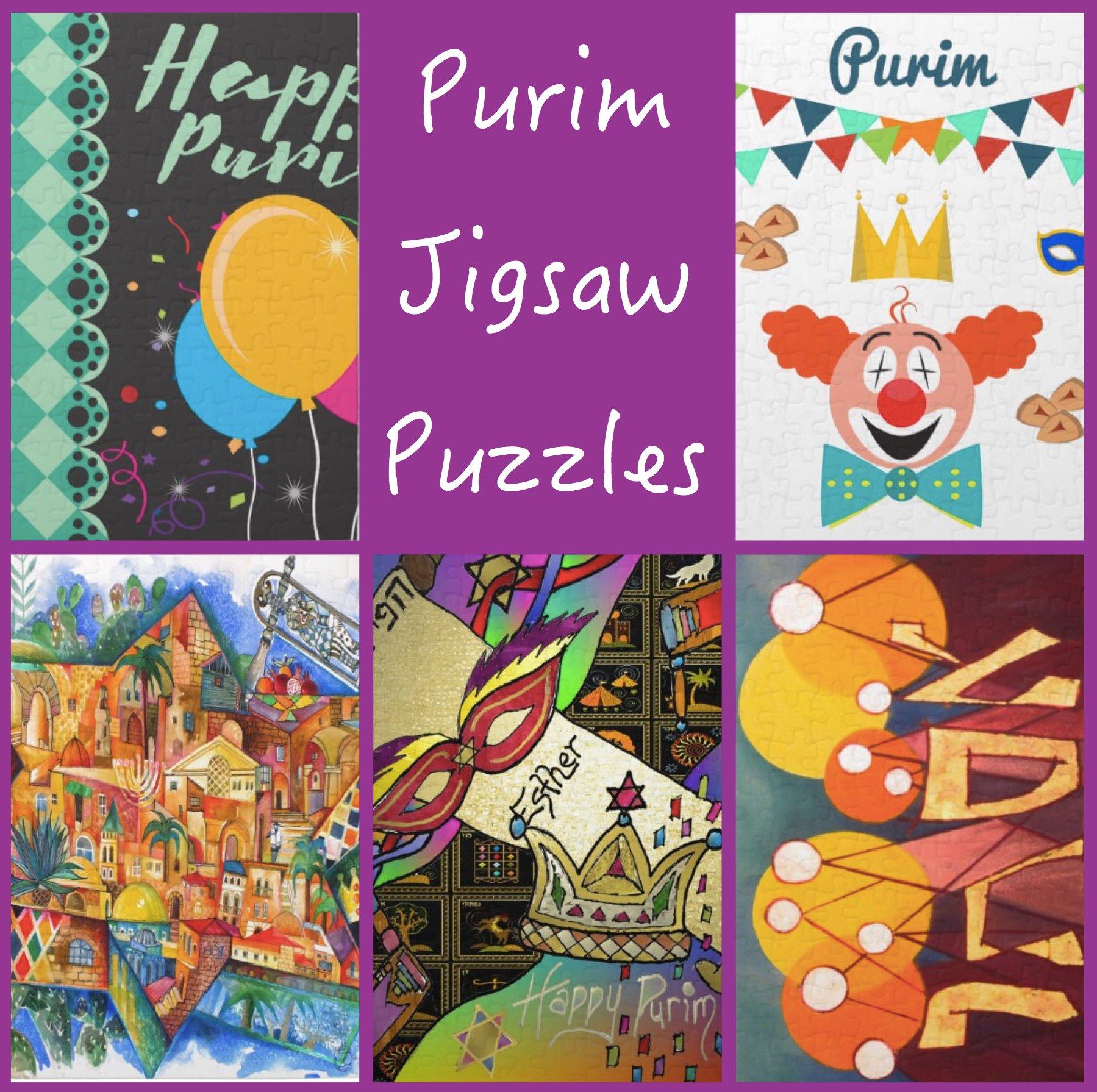 Purim Jigsaw Puzzles