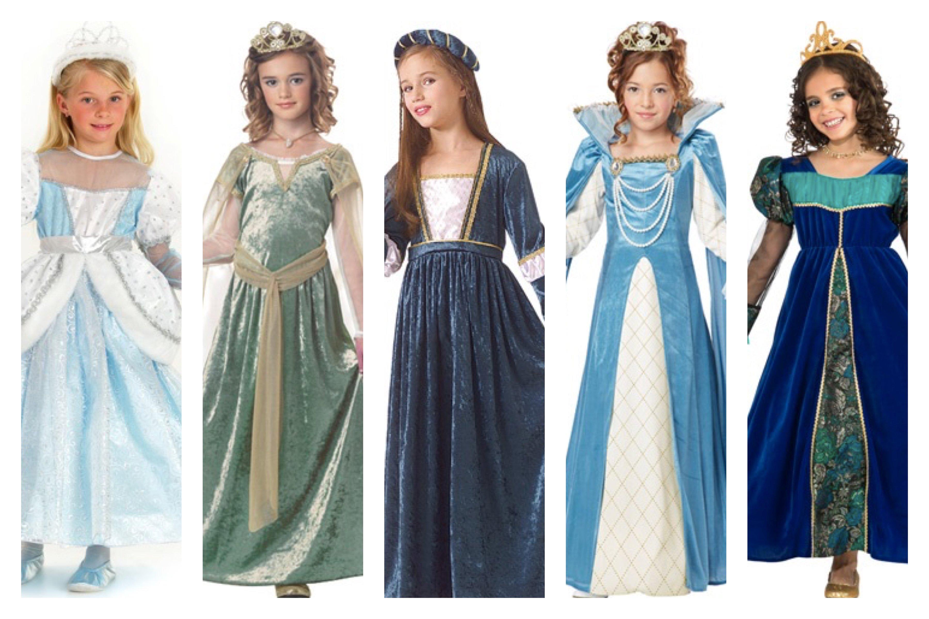 Queen Esther Girls Purim Costumes