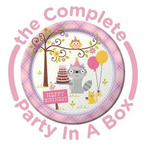 Girl's Happi Woodland Party Supplies