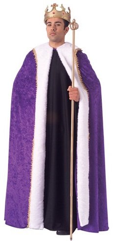 purple kings robe