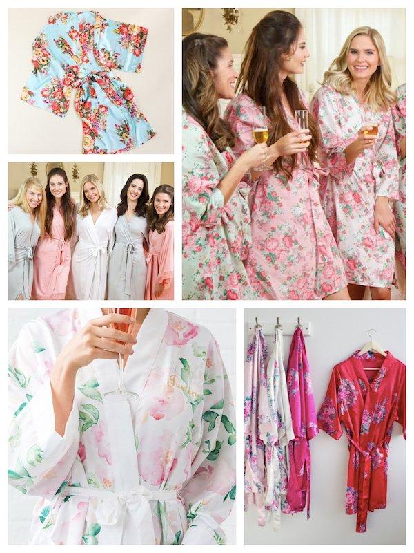 Kimono Robes Bridesmaid Gifts