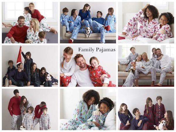 Matching Family Holiday Pajamas 2017