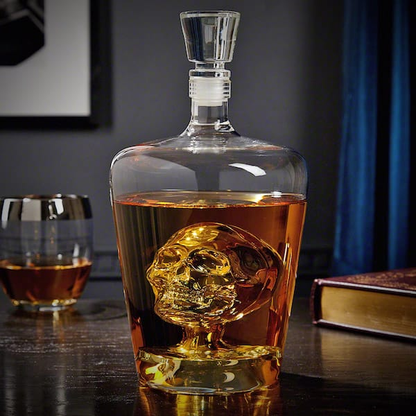 Phantom Skull Decanter for Liquor