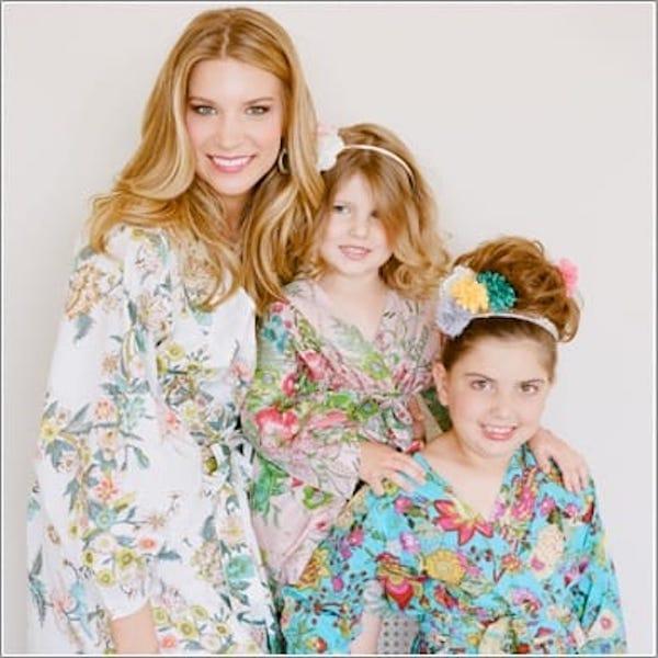Plum Pretty Sugar Mother Daughter Matching Kimono Style Robes