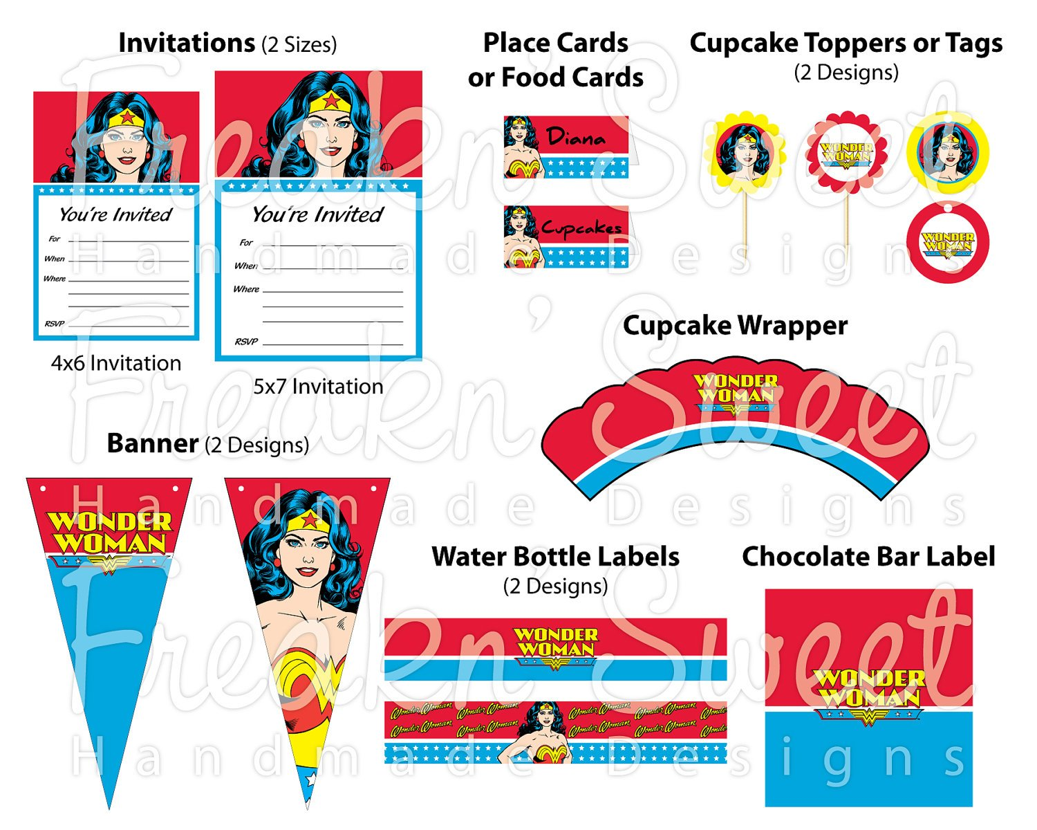 Wonder Woman Ultimate Party Pack PDF files