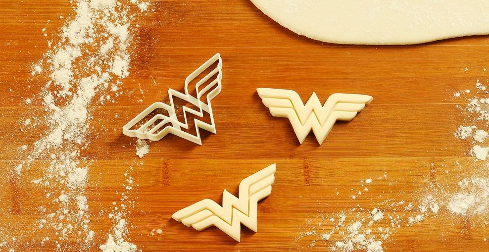 Wonder Women Logo - Cookie Cutter