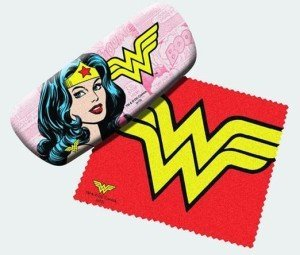 Wonder Woman Eyeglass Case