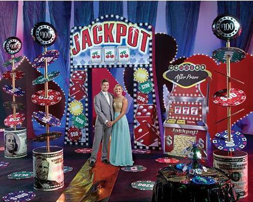 Las Vegas and Casino Theme Prom