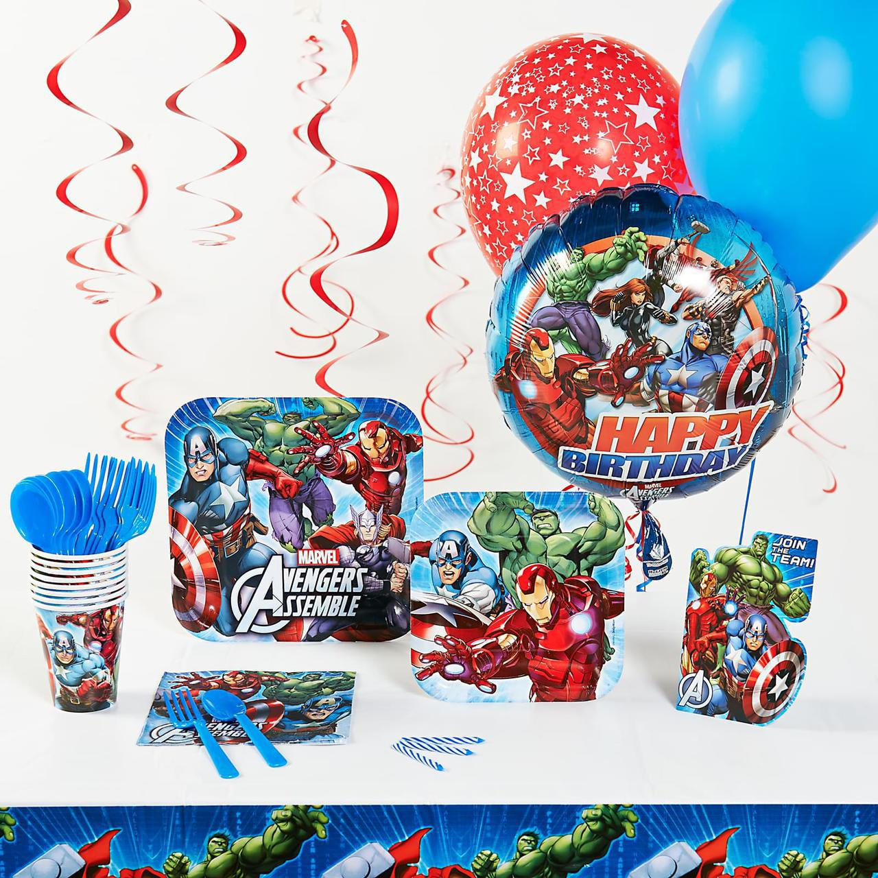 Marvel Avengers Superhero Party Pack
