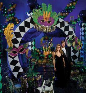 Masquerade Mardi Gras Prom Theme