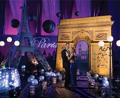 Parisian Theme Prom