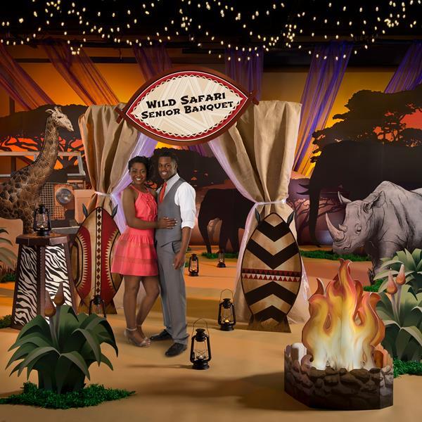 Safari and Jungle Theme Prom