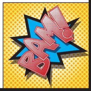 Superhero Comics Lunch Napkins