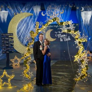 To The Moon and Back Prom Theme