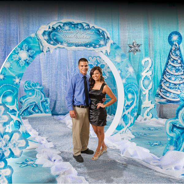 Winter Wonderland Prom Theme