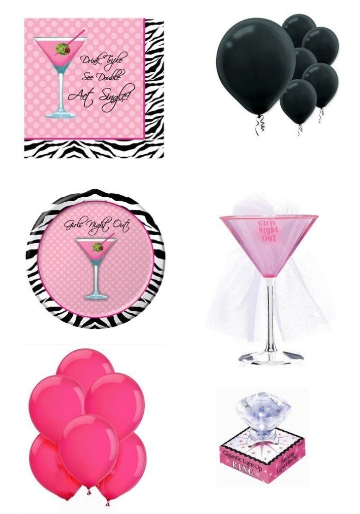 Martini Theme Party Pack Bundle