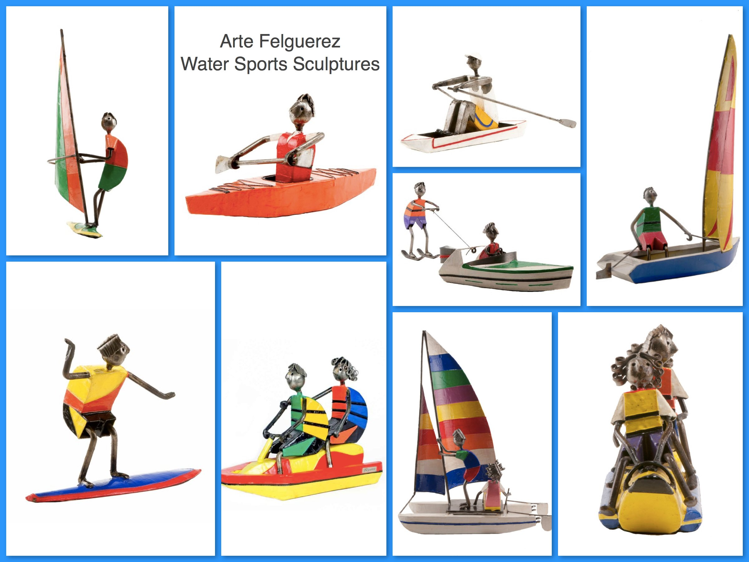 Arte Felguerez Water Sports Sculptures
