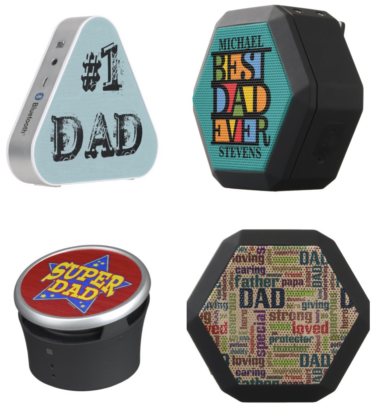 Custom Speakers Father Day Gift