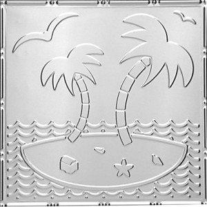 Island Oasis - Tin Ceiling Tile
