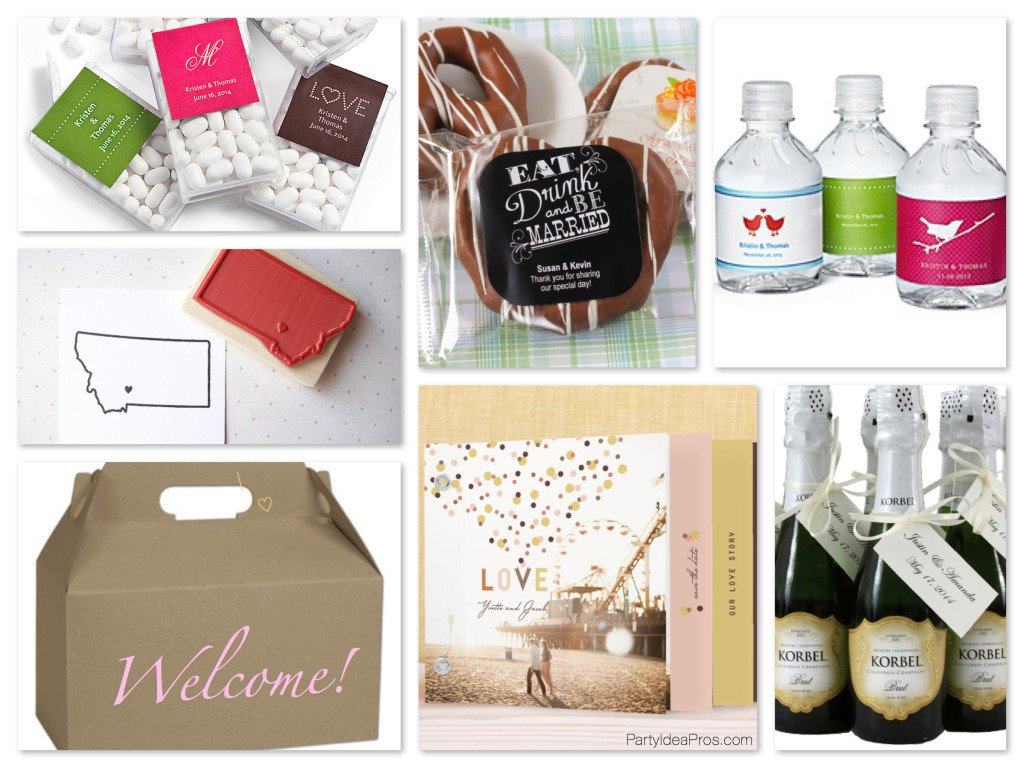 Wedding Welcome Bag Ideas & Inspiration! PartyIdeaPros.com
