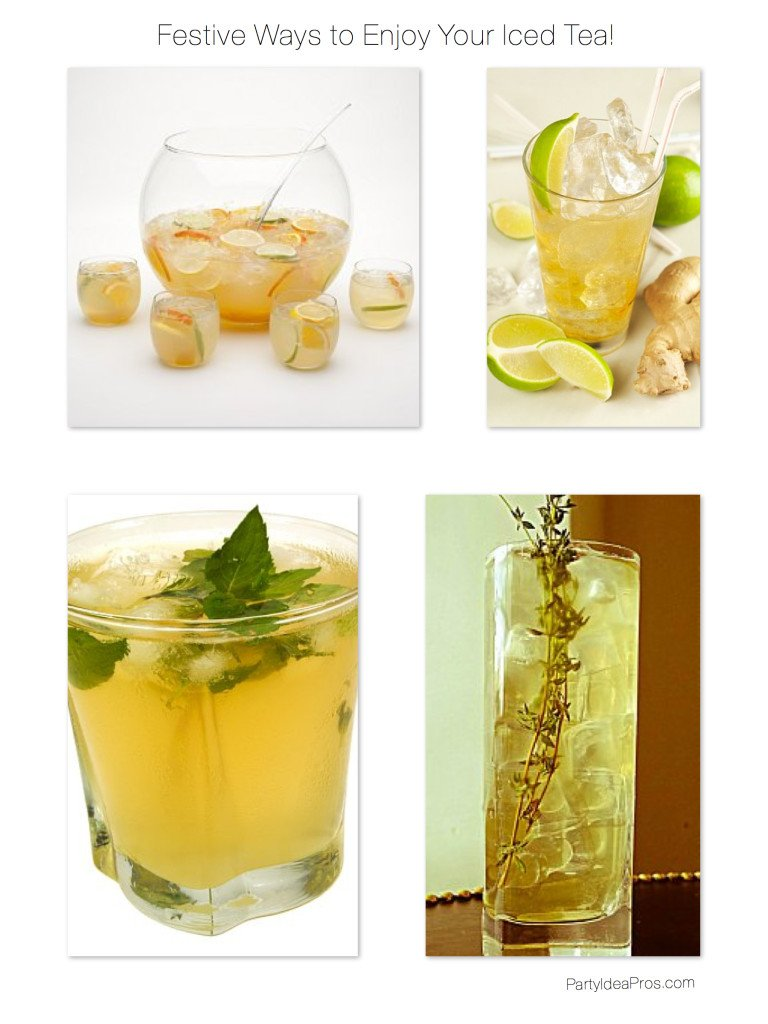 Festive Ways to Enjoy Your Iced Tea Cocktails, Best Summer Signature Drink
