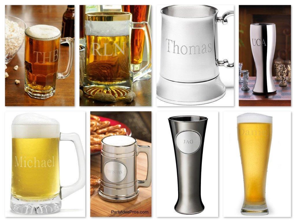 Groomsmen Personalized Beer Mugs, groomsmen beer gifts