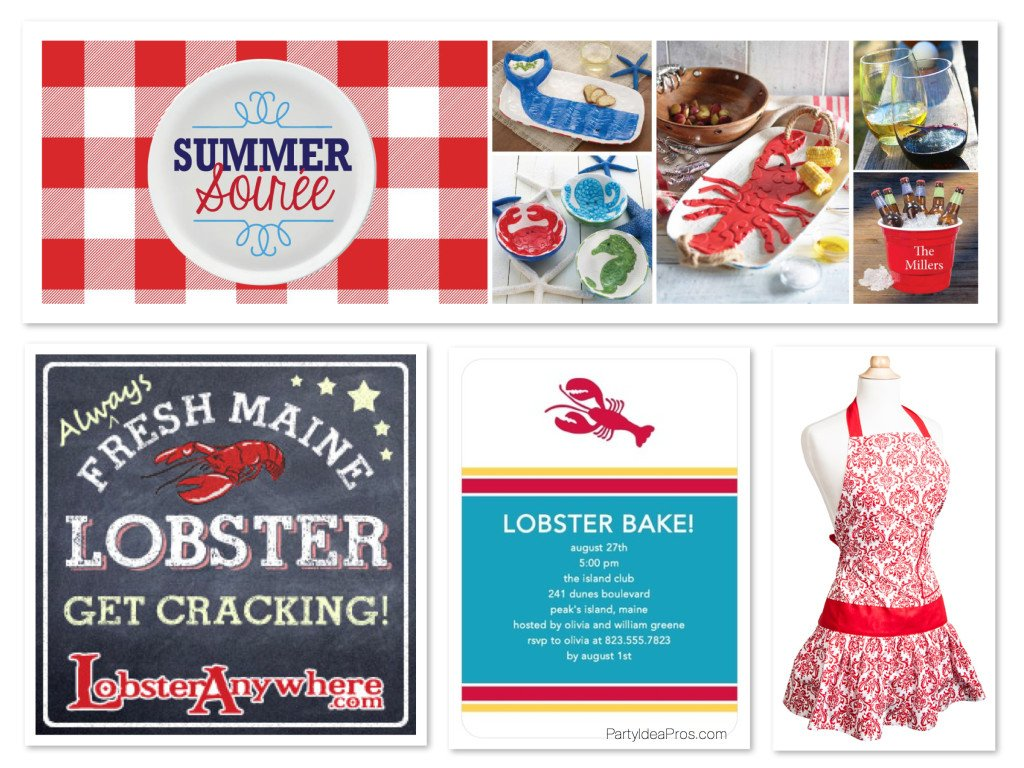 Summer Soiree Lobster Bake