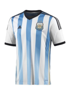 Argentina jersey, World Cup Final Viewing Party