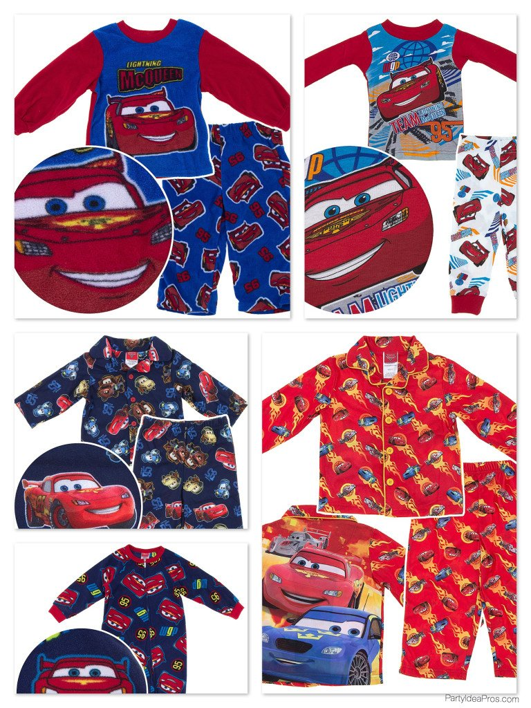 Disney Cars Theme Boys Pajamas