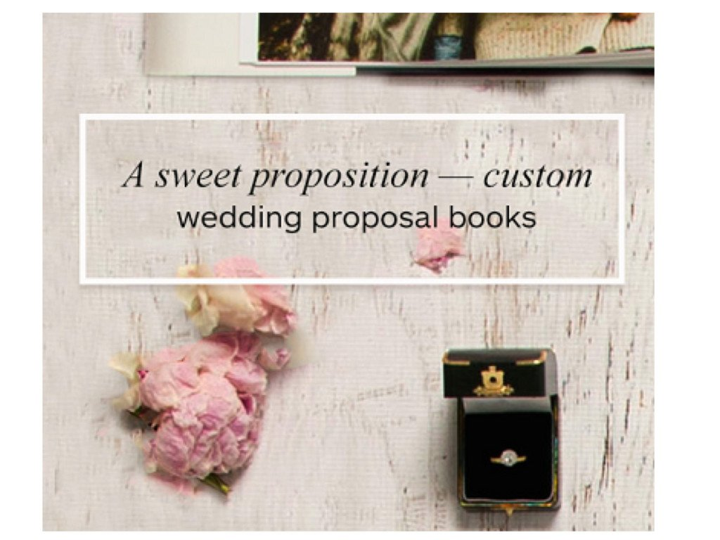 Wedding Proposal Ideas, Custom Wedding Proposal Books
