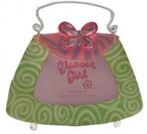 Glamour Girl Purse Photo Frame Place Card Holder