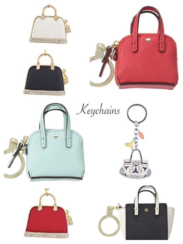 Purse Themed Keychains