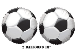 Soccer balloons, World Cup Final Viewing Party