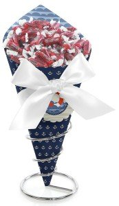 Ahoy - Nautical - Candy Bouquet with Frooties