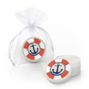 Ahoy - Nautical - Lip Balm Party FavorsAhoy - Nautical - Lip Balm Party Favors